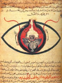Chesm Manuscript - The eye according to Hunain ibn Ishaq.