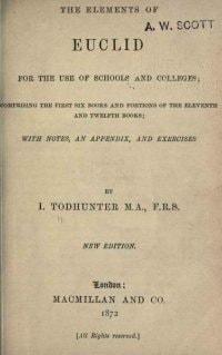 Elements Title Page