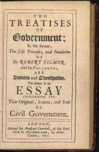 Treatises of Government, by John Locke