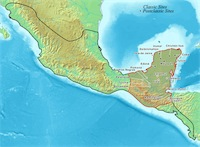 Maya Empire Map