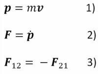 Newton Dynamical Equations