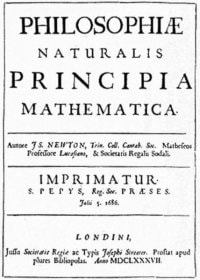 Newton's Principa