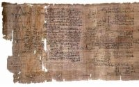 Rhind Mathematical Papyrus Thebes