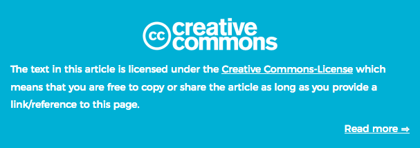 Creative commons for research papers